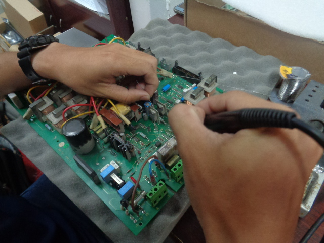 sửa board công suất DC590